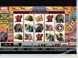 slot avtomati igre Captain America CryptoLogic