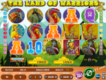 slot avtomati igre Land Of Warriors Wirex Games